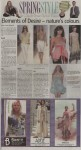 """""""Spring Style"""", page C1"""