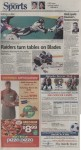 """""""Sports"""", page D1"""