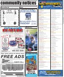 Community Notices, page 31