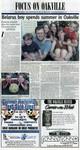 """""""Focus on Oakville"""", page B1"""