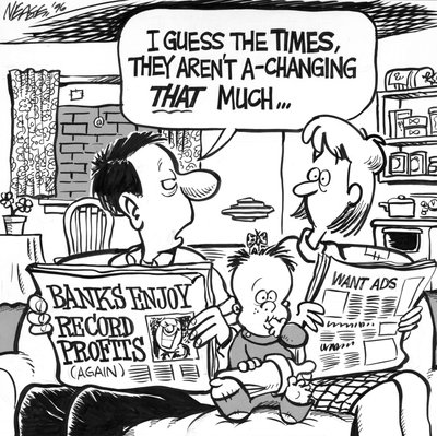 Steve Nease Editorial Cartoons: Times Aren't A-changing