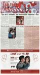 """""""""""Valentines"""", page B1"""
