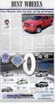 """""""Best wheels"""", page B1"""
