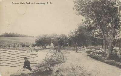 Cannon Gate Park, Lunenburg. N.S.