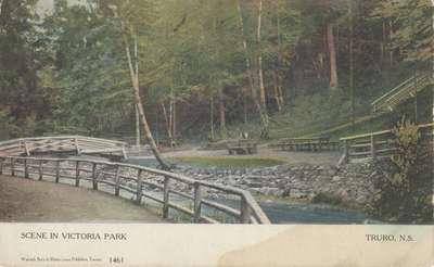 Scene in Victoria Park, Truro, N.S.