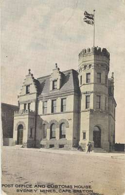 Post Office and Customs House, Sydney Mines, Cape Breton