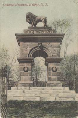 Sebastopol Monument, Halifax, N.S.