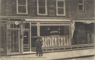 Halifax Nova Scotia's Leading Restaurant (Crouse's Restaurant)