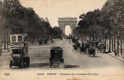 Avenue des Champs-Élyseés, Paris