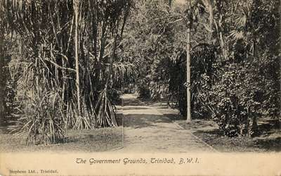 The Government Grounds, Trinidad, B.W.I.