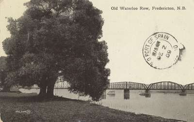 Old Waterloo Row, Fredericton, N.B.