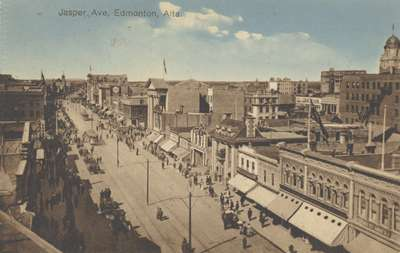 Jasper Ave., Edmonton, Alta.