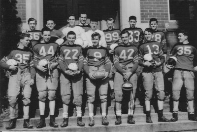 1944 Football Team. Courtesy of Bob Hughes