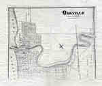 Map of Oakville 1877
