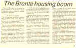 The Bronte housing boom