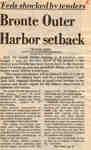 Bronte Outer Harbor setback