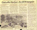 Oakville Harbor: An 1874 bargain