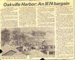 Oakville Harbor: An 1874 bargain