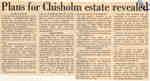 Plans for Chisholm estate revealed