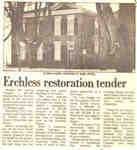 Erchless restoration tender