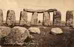 Stonehenge from Altar Stone