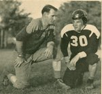 "Coach Bob McKay and Co-Capt. Geo. ""Giggs"" Watson"
