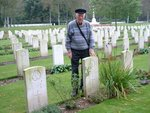 Grave Stone of Veteran Frank Harris