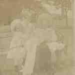 Louisa Brooman and children