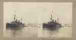 Italian Warship in Venice