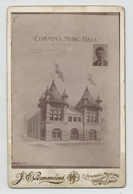 Commins Music Hall  OHS #139