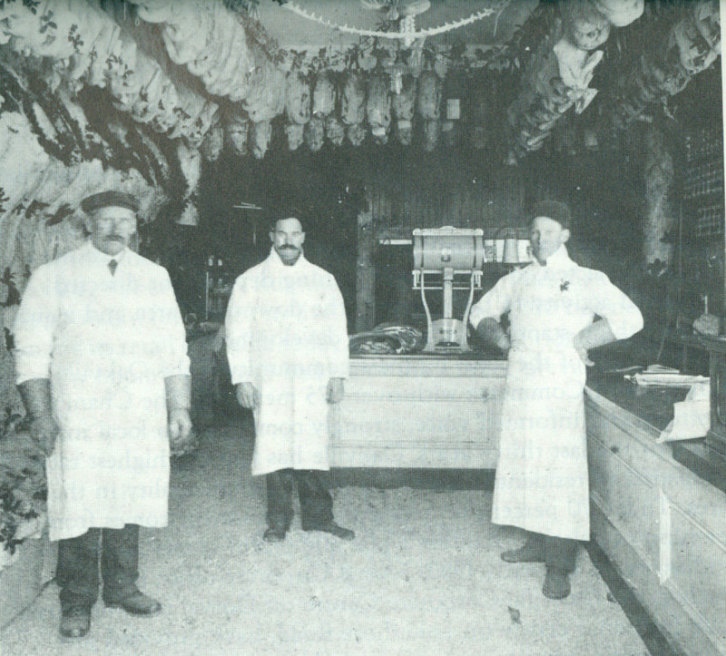 Buckle's Meat Market. Courtesy of the Oakville Historical Society