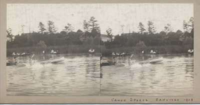 Canoe sports Oakville 1908