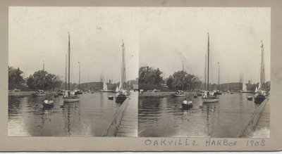 Oakville Harbor, 1908