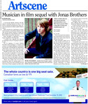 Musician in film sequel with Jonas Brothers