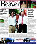Oakville Beaver13 Aug 2010