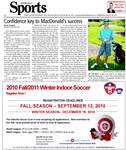 Confidence key to MacDonald's success