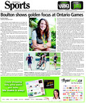 Boulton shows golden focus at Ontario Games