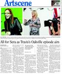 All for Sera as Travis's Oakville episode airs