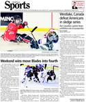 Westlake, Canada defeat Americans in sledge series: But Canadian captain keeps exhibition win in perspective
