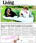 Sleep in the Park tonight at Coronation