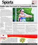 Rohde takes fast track to Commonwealth Games