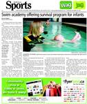Swim academy offering survival program for infants