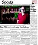 New OAK coach embracing the challenge