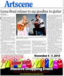 Liona Boyd refuses to say goodbye to guitar