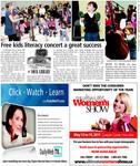 Free kids literacy concert a great success