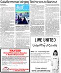Oakville woman bringing Tim Hortons To Nunavut