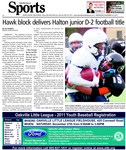 Hawk block delivers Halton Junior D-2 football title