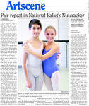 Pair repeat in National Ballet's Nutcracker