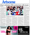 Choir Celebrates 50th anniversary with music