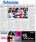 Choir Celebrates 50th anniversary with music